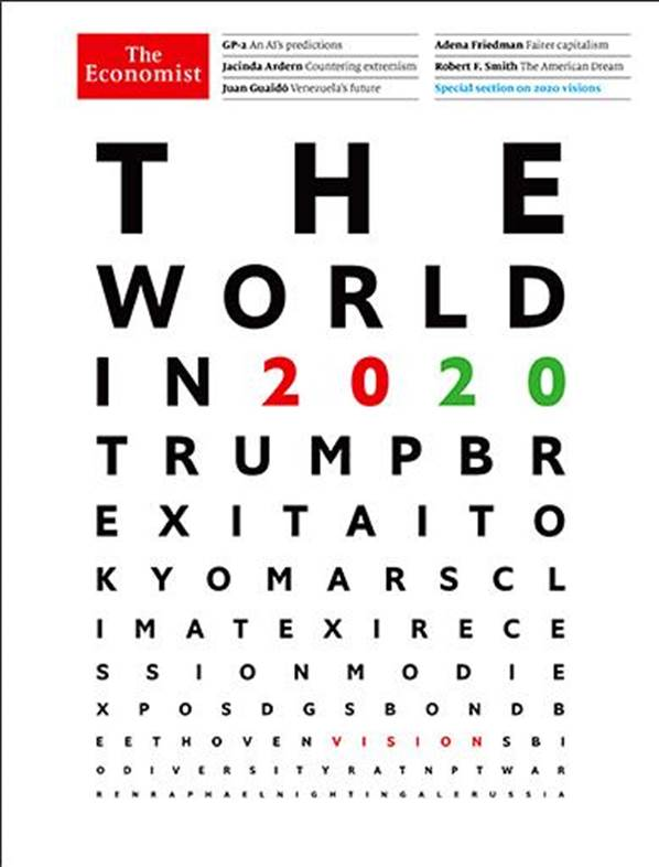 The World in 2020 – The Economist Store & Economist Diaries