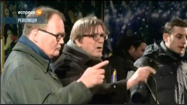 Afbeeldingsresultaat voor van baalen en guy verhofstadt