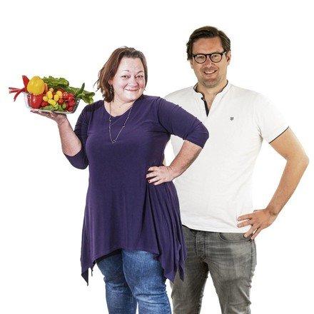 Redacteuren Lydia en Roy gaan minder vlees eten.'Vegetarisch... -  Noordhollandsdagblad